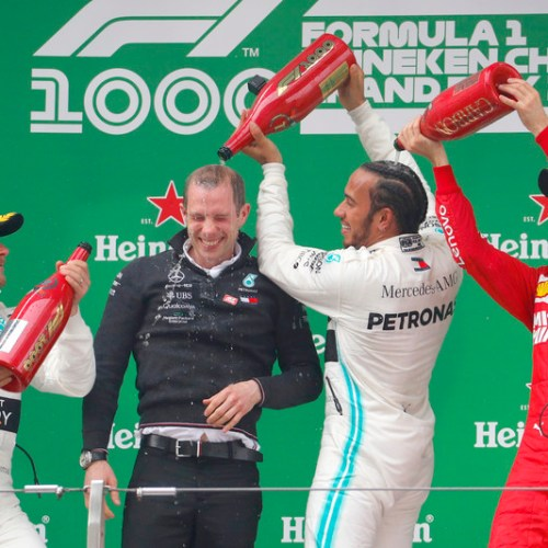 Lewis Hamilton wins Chinese GP as Ferrari's internal politics pushes Vettel to podium