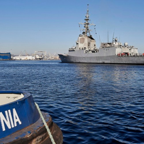 Slideshow: Easter in Gdynia for NATO-SNMG1
