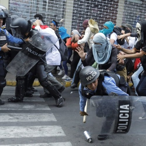 Photo Story: – Honduras: Protest clashes on education and health