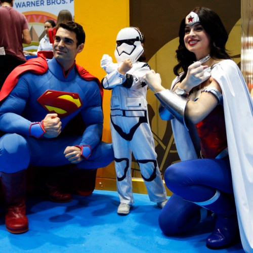 Slideshow: The Middle East Film & Comic Con in Dubai