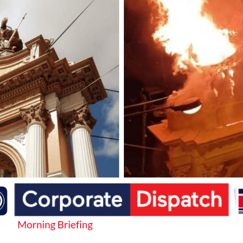 Corporate Dispatch Morning Briefing and Newspaper Review Saturday April 27th