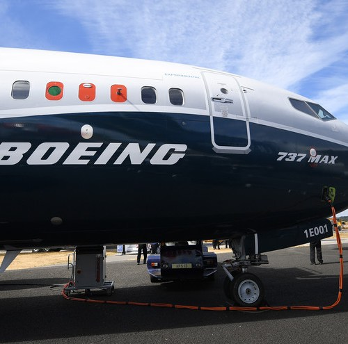 Boeing's profit takes big hit after 737 MAX groundings