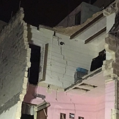 Malta: No one hurt as block near building site collapses in Guardamangia – Updated