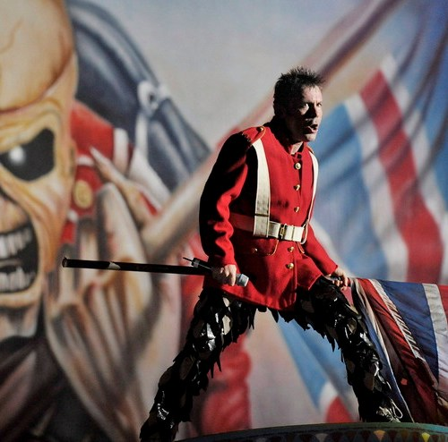 Iron Maiden's Bruce Dickinson made honorary citizen of Sarajevo