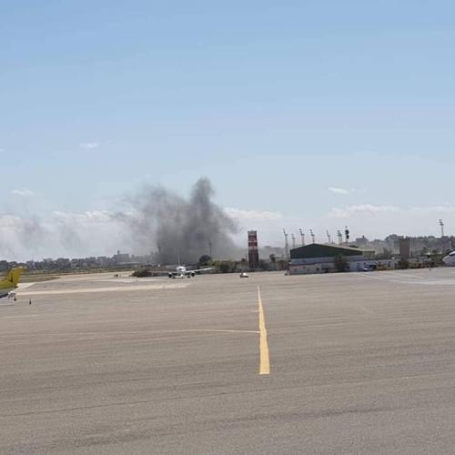UPDATED: Air strike on Mitiga airport