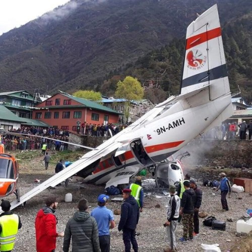 Fatal air crash in Nepal