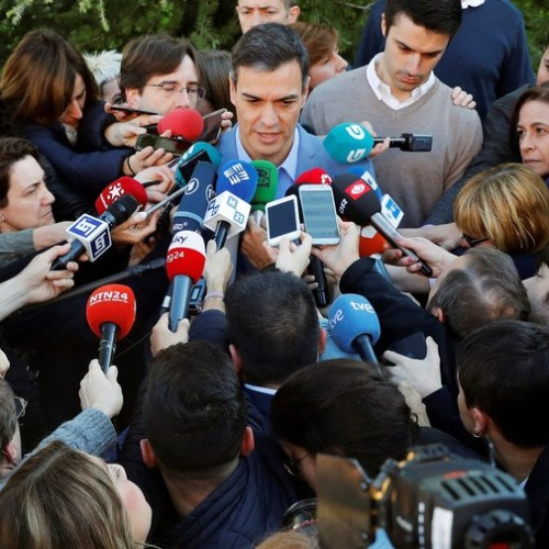 Spain's Socialist mull next move after victory but no majority