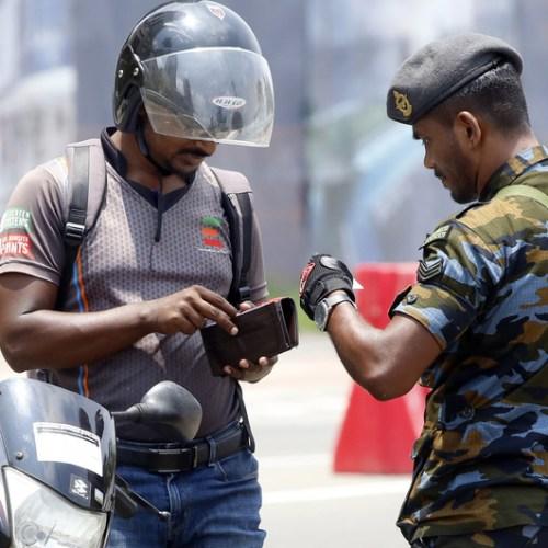 Mysterious blast in Sri Lanka