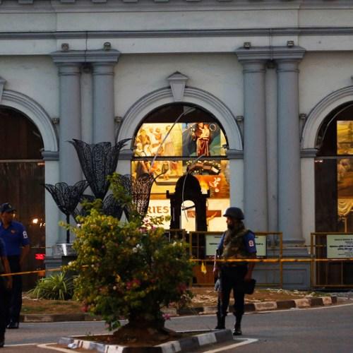 Six children among those found dead after fierce firefight in Sri Lanka