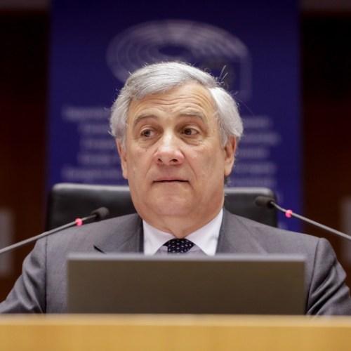 EU parliament head Tajani says Europe split over Libya