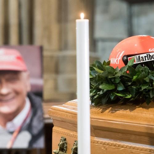 Photo Story: Final farewell to Niki Lauda