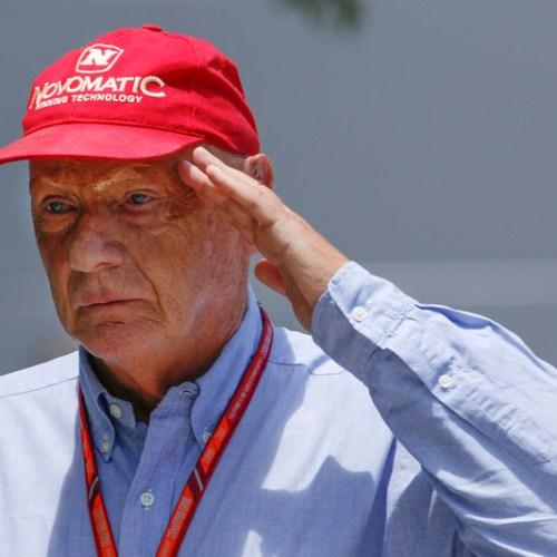 Former Formula 1 world champion Niki Lauda dies