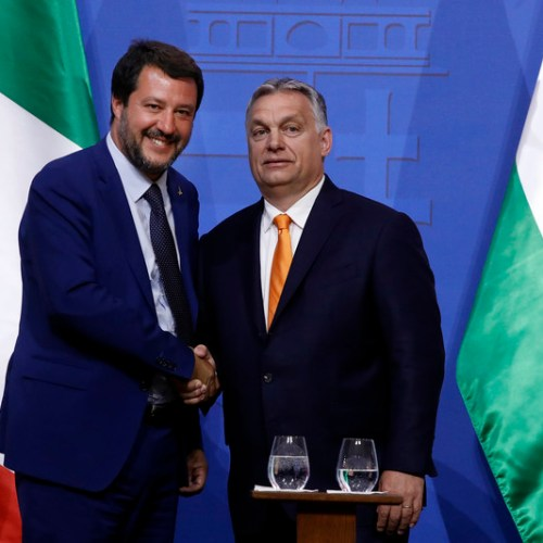 Hungary Fidesz dismisses cooperation with Salvini's far-right group