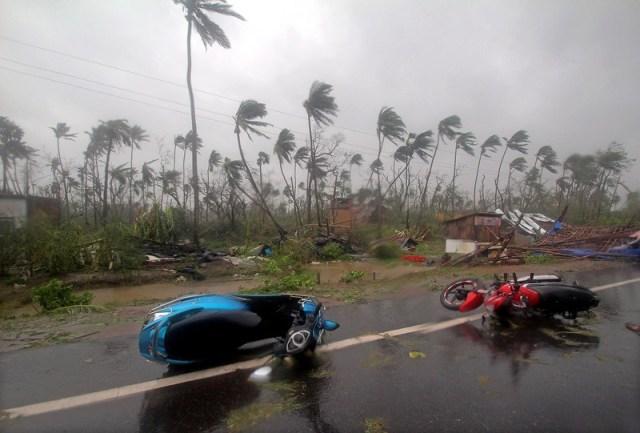 Cyclone Fani makes landfall in Odisha coast