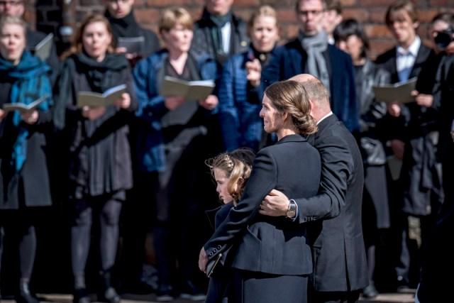 Funeral service for Holch Povlsen family victims of Sri Lanka terror attack