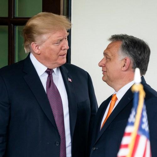 Donald Trump meets Viktor Orban