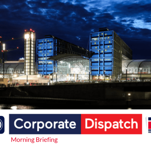 Corporate Dispatch Morning Briefing, May 9th 2019