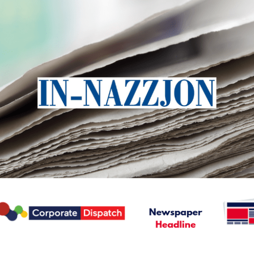 In-Nazzjon headlines – Tuesday 4th June 2019