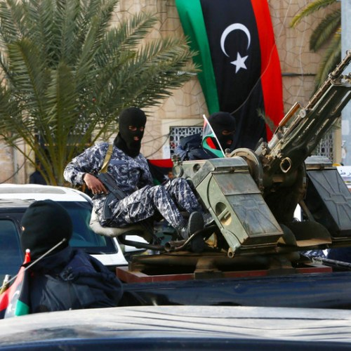 Accusations that Turkey is training Tripoli's forces