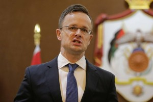 Hungarian Minister of Foreign Affairs and Trade Peter Szijjarto visits Amman