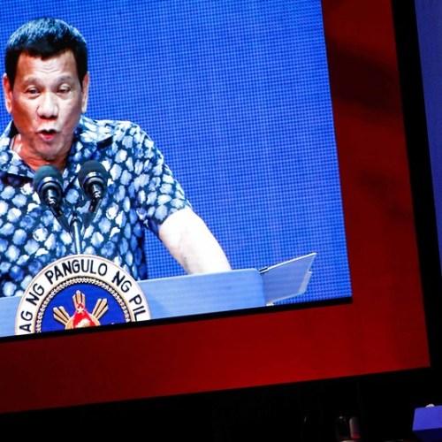 Photo Story: Duterte faces key election test