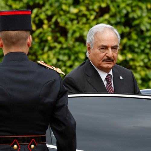 Haftar says no Libyan ceasefire for now