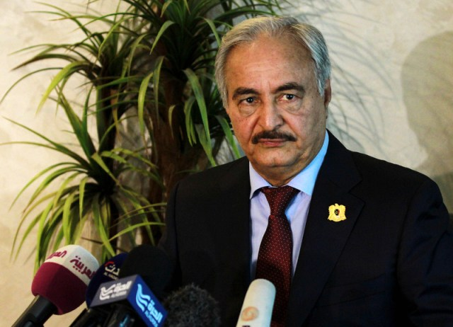 Commander of Libya's internationally recognised Government's army in Jordan