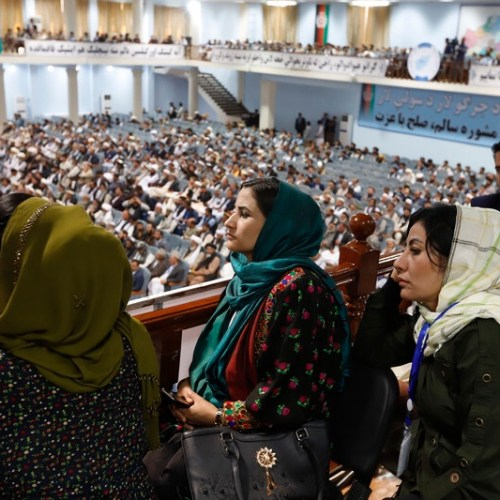 Women told 'You Should Be in the Kitchen' during Afghan conference on peace