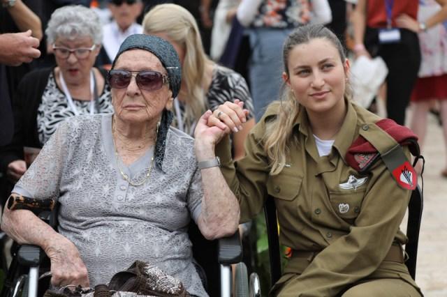 Holocaust Remembrance Day At Yad Vashem Holocaust Memorial In Jerusalem