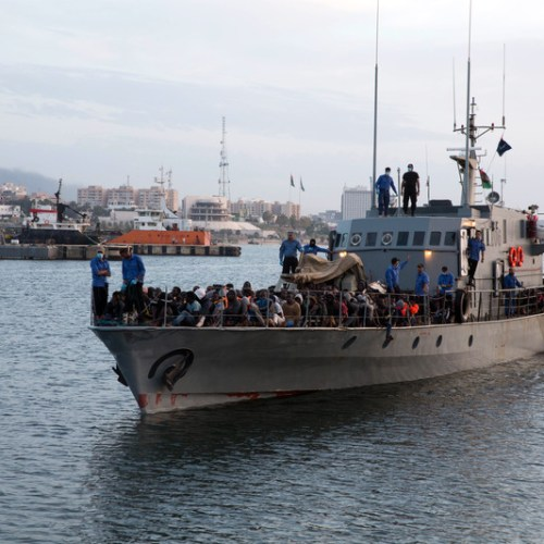 Libya coast guard detains 113 migrants