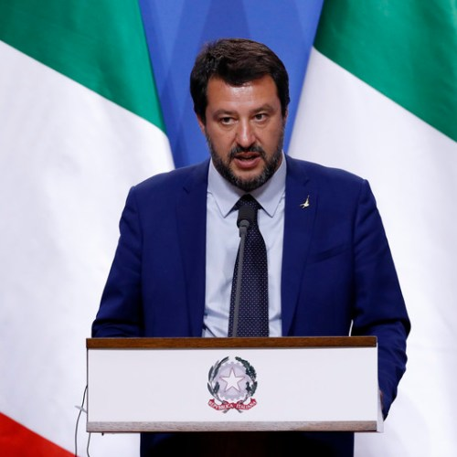 New controversy as Salvini refuses to let Italian Navy ship with migrants dock