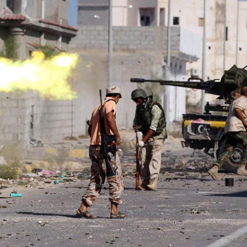 Haftar's forces heading to Sirte