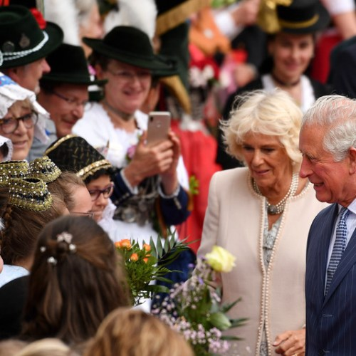 Slideshow: Prince Charles and Camilla in Germany