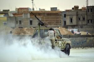 Fighting flares in Benghazi