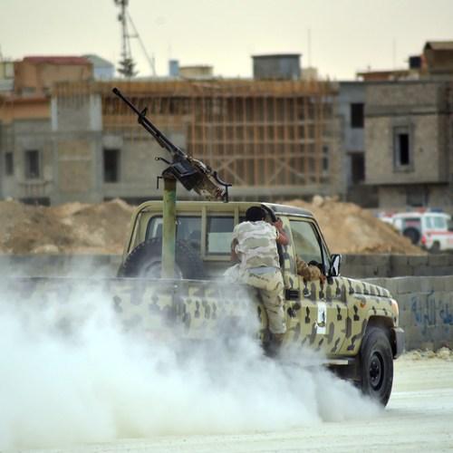 Two powerful car blasts in Derna, Libya