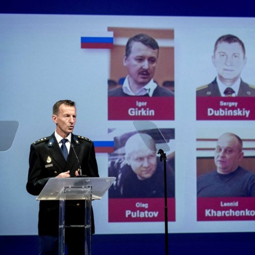 UPDATED : Four charged with murder over downing of MH 17