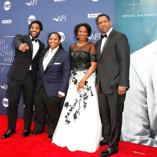Photo Story: Actor Denzel Washington honored with Life Achievement Award