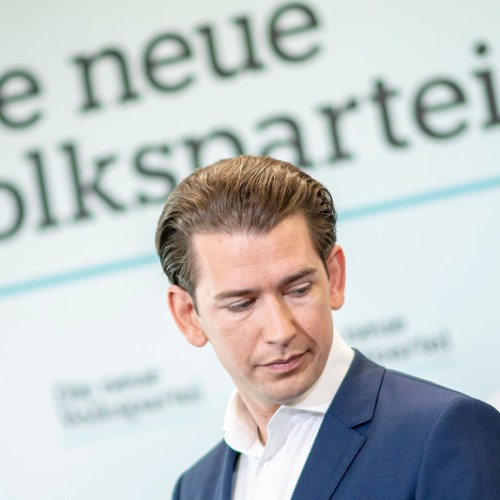 Kurz says emails suggesting his involvement in a scandal involving his previous coalition partners are fakes