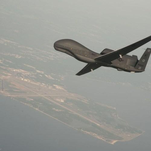 U.S. military drone lost over Tripoli, Libya