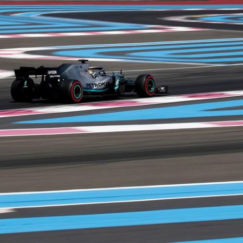 Hamilton secured his third pole position of the season