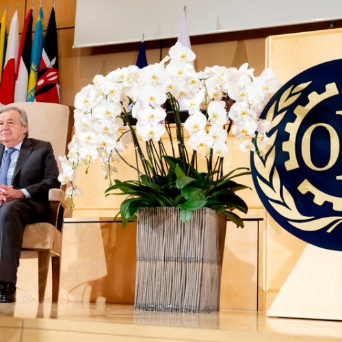 UN Secretary General hails historic Convention banning violence and harassment at work