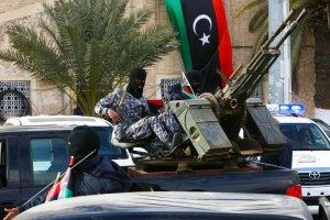 Security in Libyan capital Tripoli