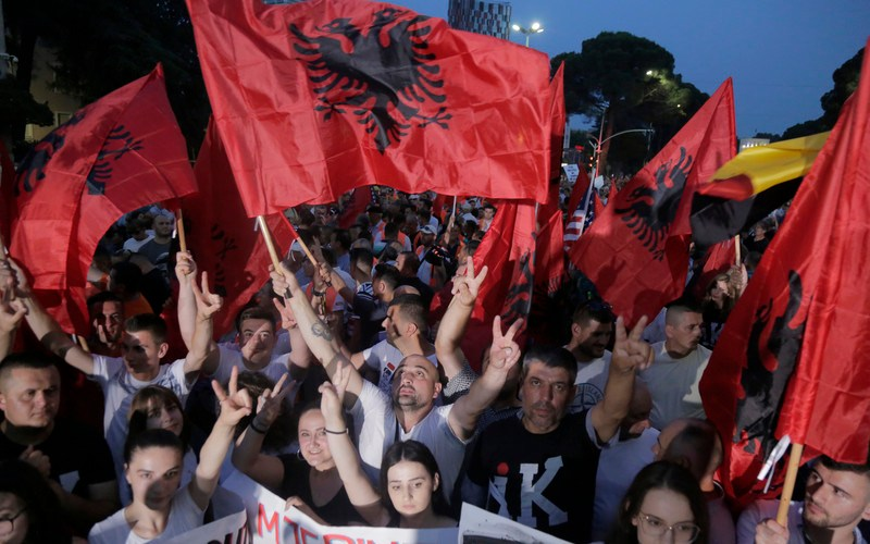 Tension as Albania goes to the polls