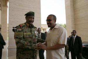 Ethiopian leader arrives in Sudan