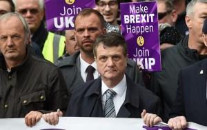 UKIP Brexit Betrayal march