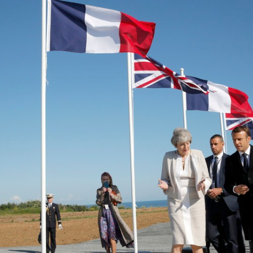"UPDATED: Macron and May say 'thank you' to D-Day veterans… ""we owe you our freedom"""