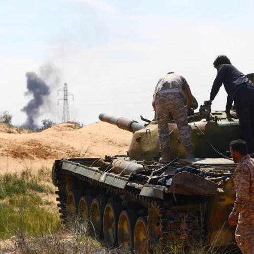 Fighting intensifies in southern Tripoli
