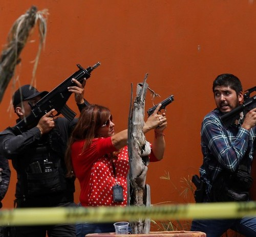 Photo Story: Firefight in Jalisco