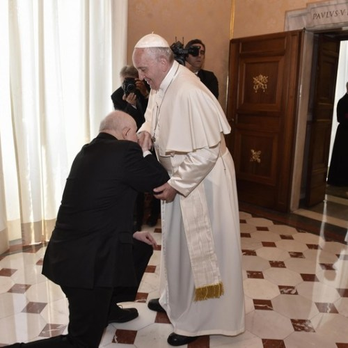 Photo Story: The Pope and the Grand Master