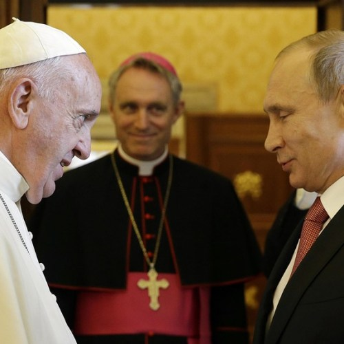 Pope and Putin to meet again in July